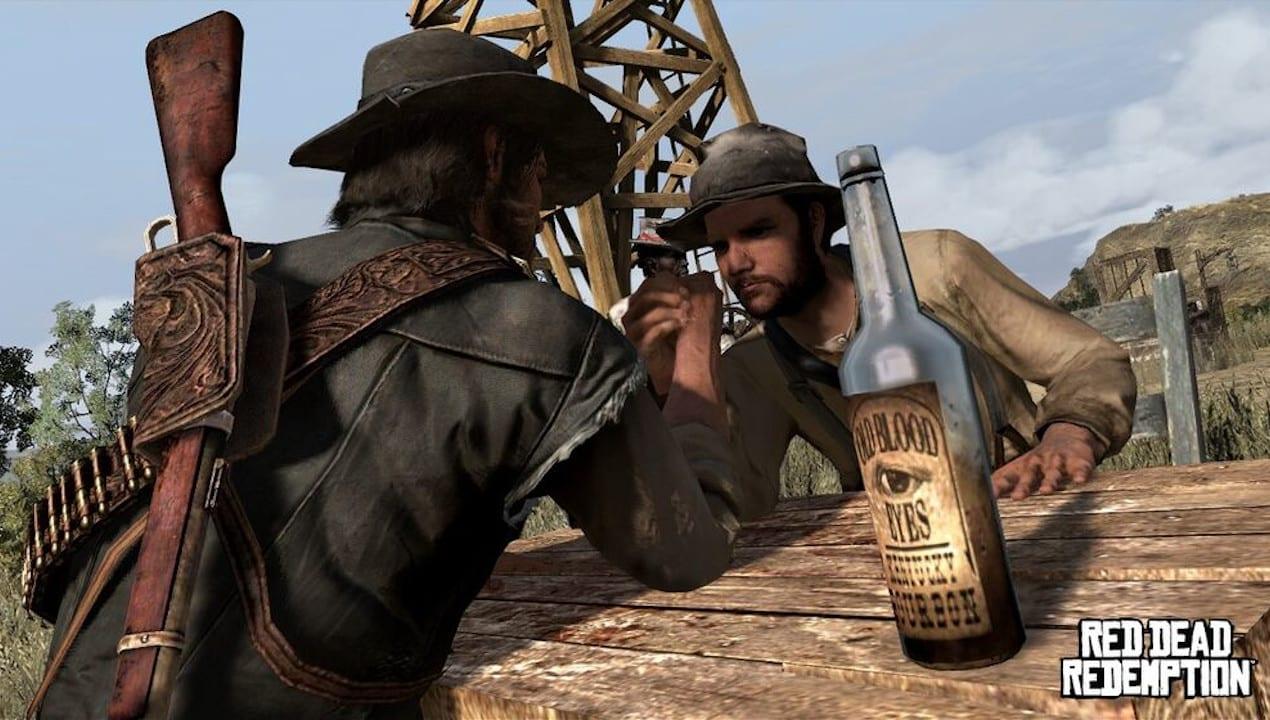 Activités de bras de fer Red Dead Redemption 2