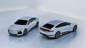 Audi A6 E-Tron, un spectaculaire concept de berline électrique qui définit l'avenir de la marque