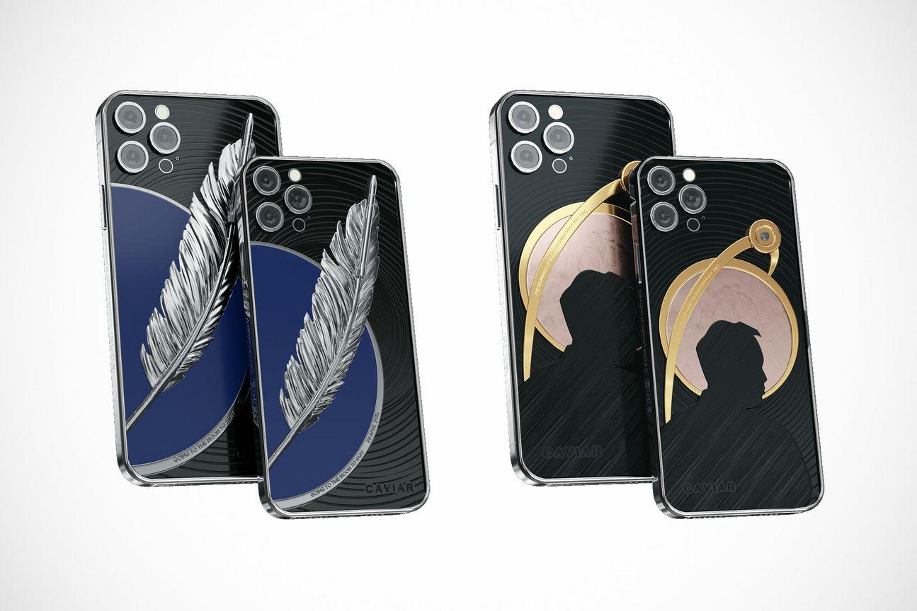Conception de l'iPhone 12 Pro Bezos et Musk