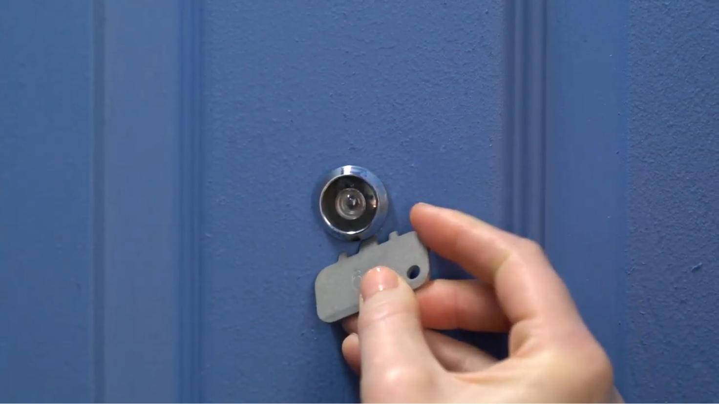extension de came de vue de porte en anneau