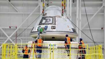 Boeing Pousse Le Deuxième Vol D'essai Du Starliner à La