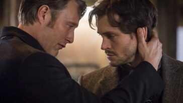 Mads Mikkelsen et Hugh Dancy se sont presque embrassés à la fin d'Hannibal