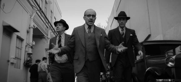 C'est ainsi que l'arrivée de Mank à Paramount est montrée dans le film.  Photo: (IMDB)