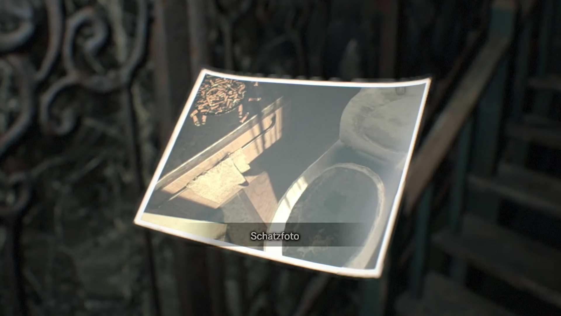 Trésor Photo 2 dans Resident Evil 7