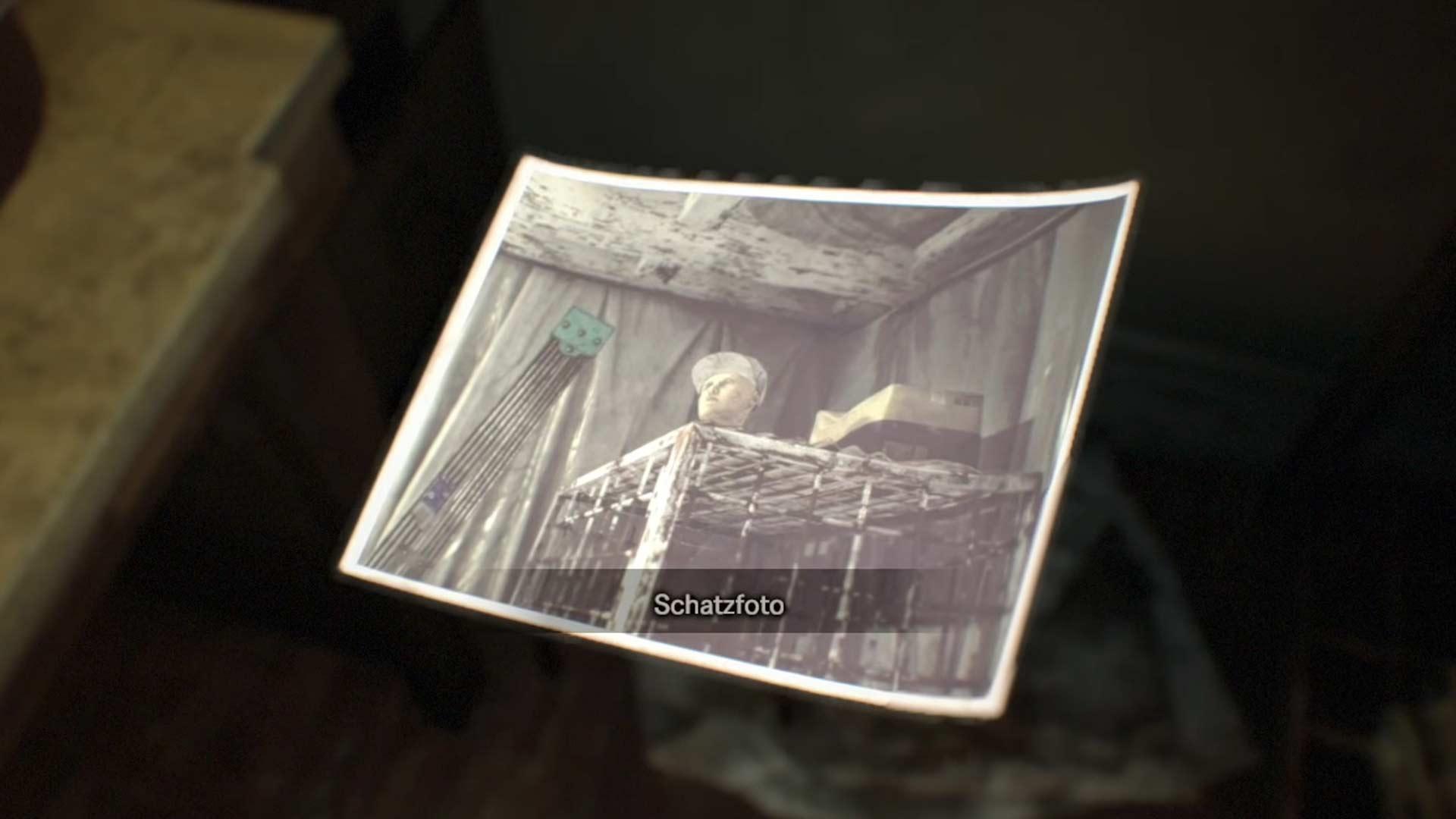 3. Photo au trésor dans Resident Evil 7