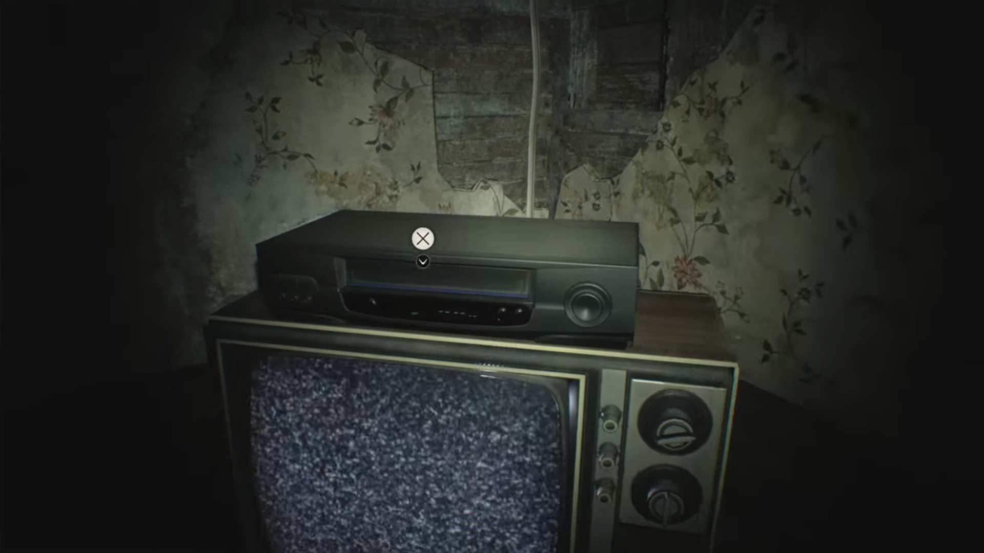 Cassette vidéo - Resident Evil 7