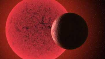 La Nouvelle Super Terre A Une Orbite Rapide Autour D'une étoile