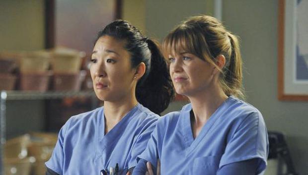 """Cristina et Meredith étaient les meilleures amies de """"L'anatomie de Grey"""" (Photo: ABC)"""