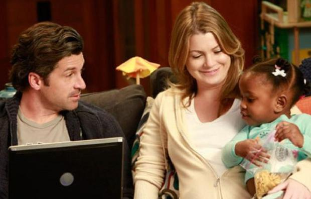 Meredith et Derek ont ​​presque perdu Zola (Photo: Grey's Anatomy / ABC)