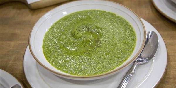 Soupe Guérissante à la Crème Verte