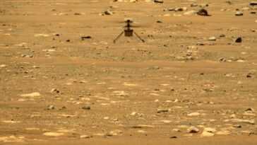 L'hélicoptère Mars Ingenuity Vole Plus Haut Et Plus Longtemps Sur