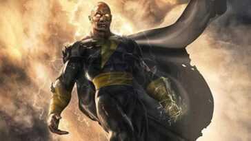 `` Black Adam '': Ils révèlent la différence entre la bande DC et les bandes dessinées