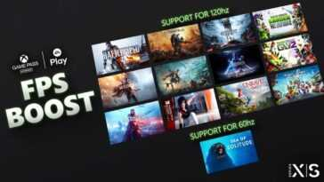Microsoft Annonce 13 Ea Games Qui Recevront Fps Boost Sur