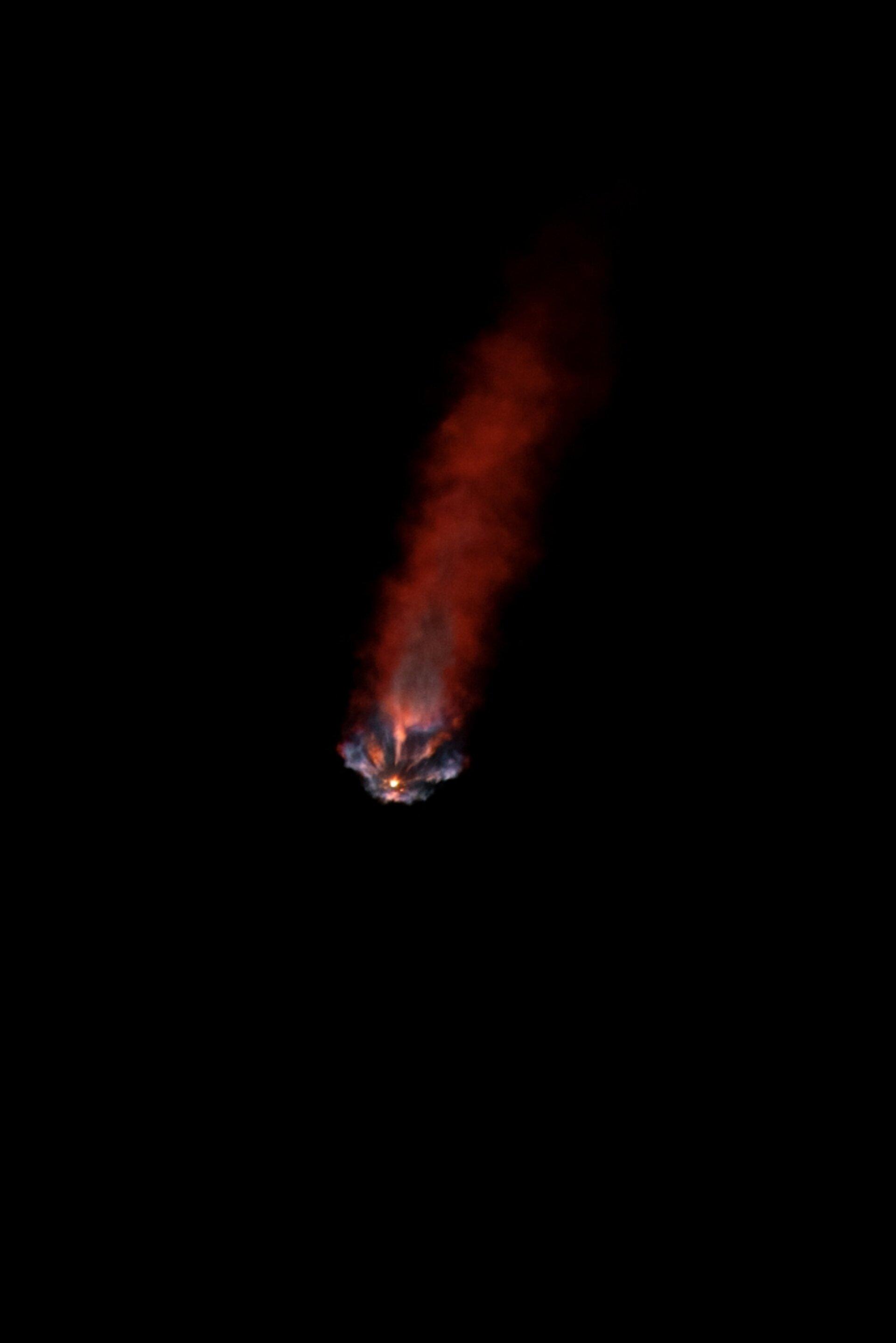 L'ESA a repéré la mission Crew-2 de SpaceX.