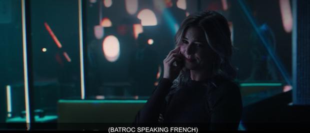 Sharon Carter en conversation avec Baltroc.  (Photo: Disney +)