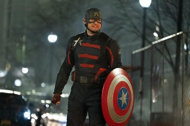 """Wyatt Russell reviendra dans le rôle de John Walker dans la deuxième saison de """"Falcon and the Winter Soldier"""" (Photo: Disney + / Marvel)"""