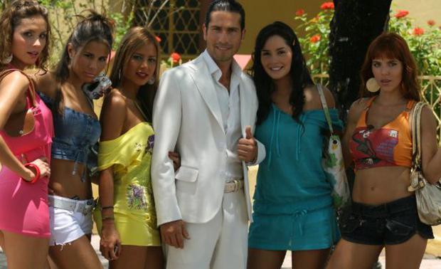 """L'histoire de 'Catalina Santana' a commencé il y a 10 ans avec """"Sans seins il n'y a pas de paradis"""" (Photo: Telemundo)"""