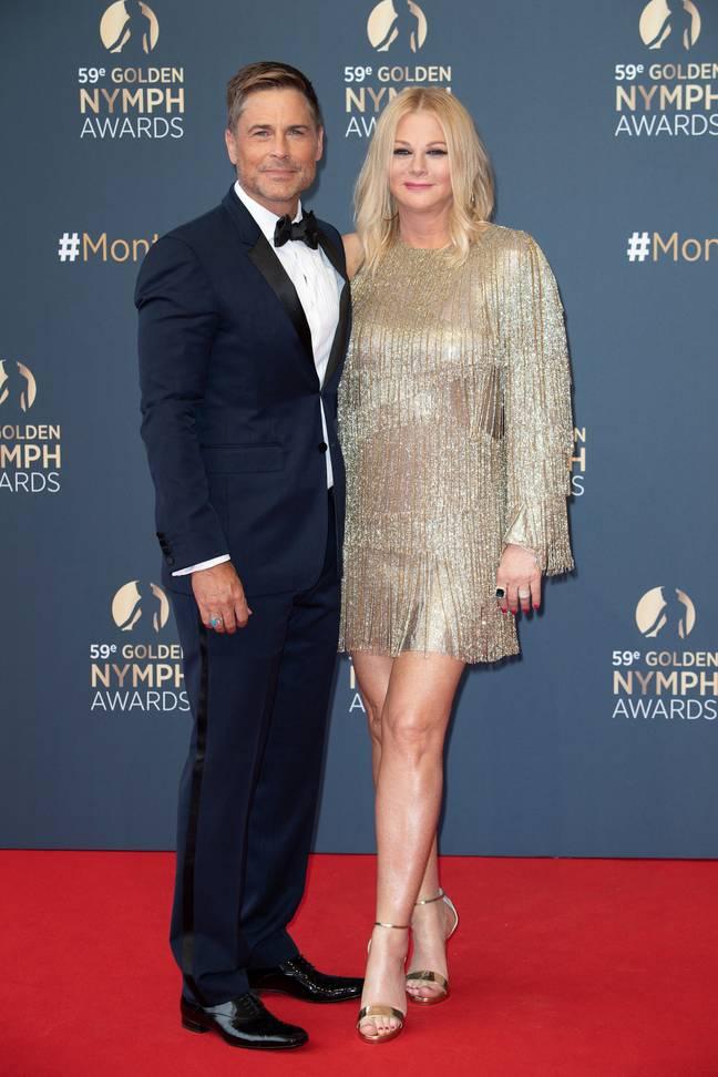 Rob et sa femme Sheryl.  Crédit: PA