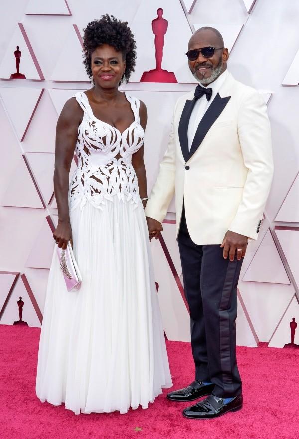 Viola Davis et son mari.  Photo: (Getty)