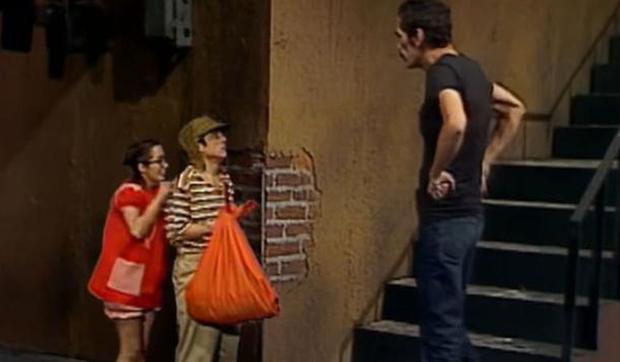 El Chavo et La Chilindrina avaient 4 ans lorsqu'ils se sont rencontrés.  (Photo: Televisa)