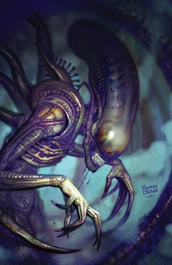 """Couvertures de variantes pour Marvel's """"Extraterrestre n ° 1"""" bande dessinée."""