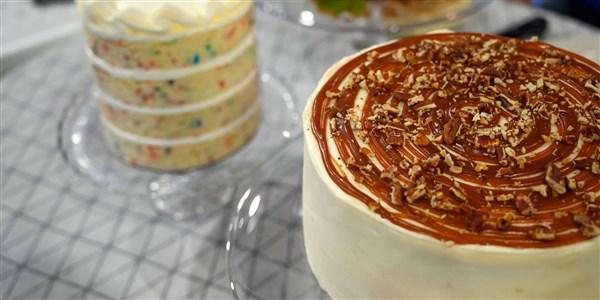 Gâteau gluant à l'érable