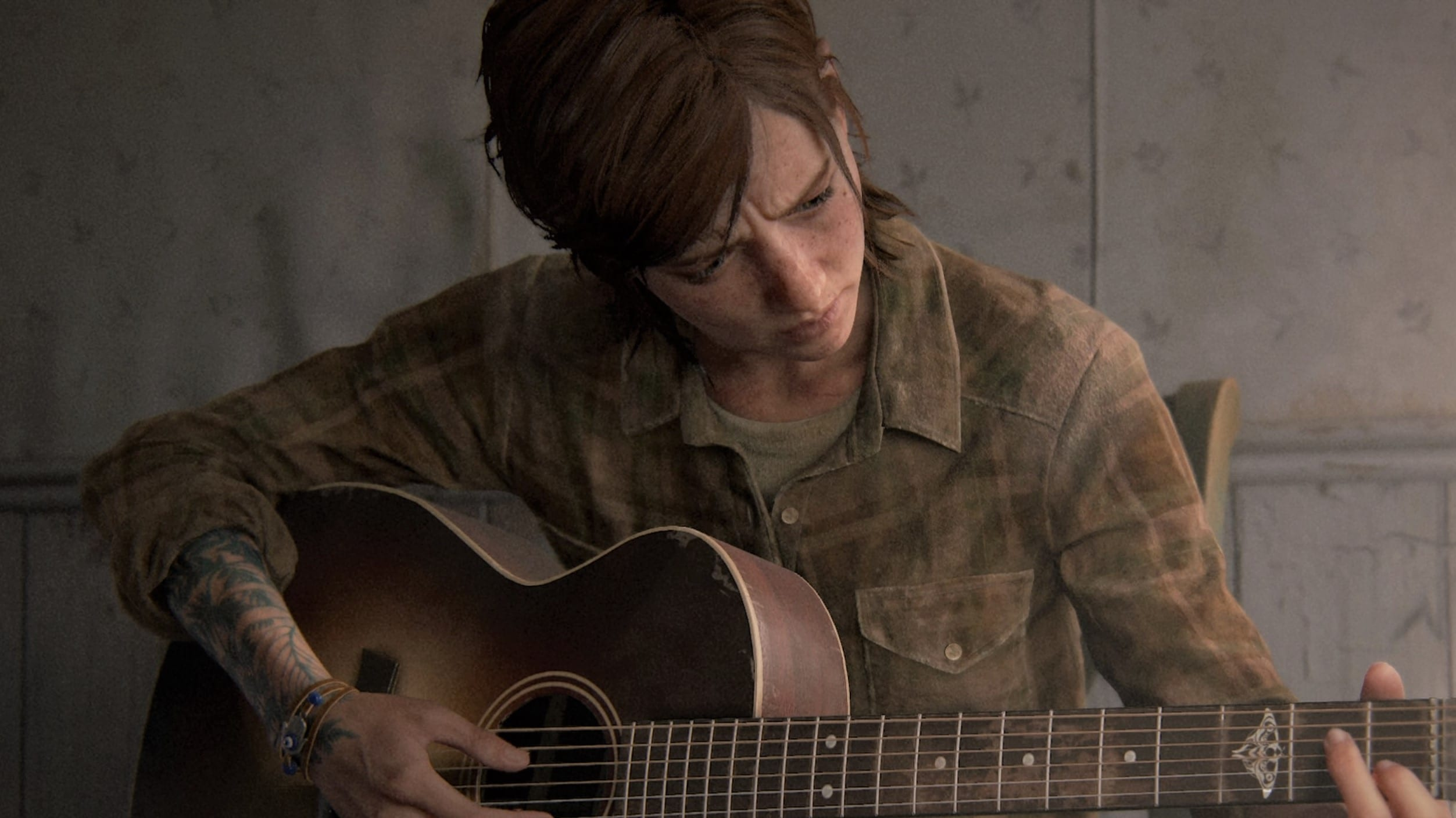 The Last of Us 2 Ellie Ende guitare