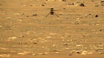 La Nasa Prolonge La Mission De Haut Vol De L'hélicoptère