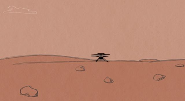 Les étudiants peuvent créer un jeu vidéo d'hélicoptère Ingenuity avec le nouveau guide d'apprentissage de la NASA.