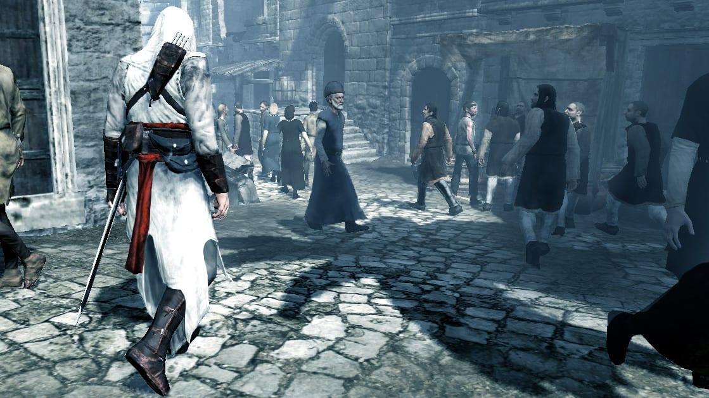 Foule d'Assassin's Creed Altaïr