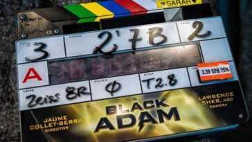 Black Adam Commence Le Tournage, The Rock Partage Sa Première