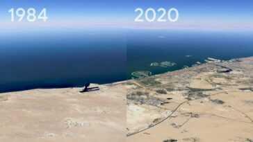 Cette Fonctionnalité Google Earth Montre Comment Votre Ville A Changé