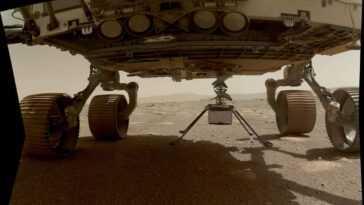Comment L'hélicoptère Ingenuity De La Nasa A T Il Effectué Son Premier