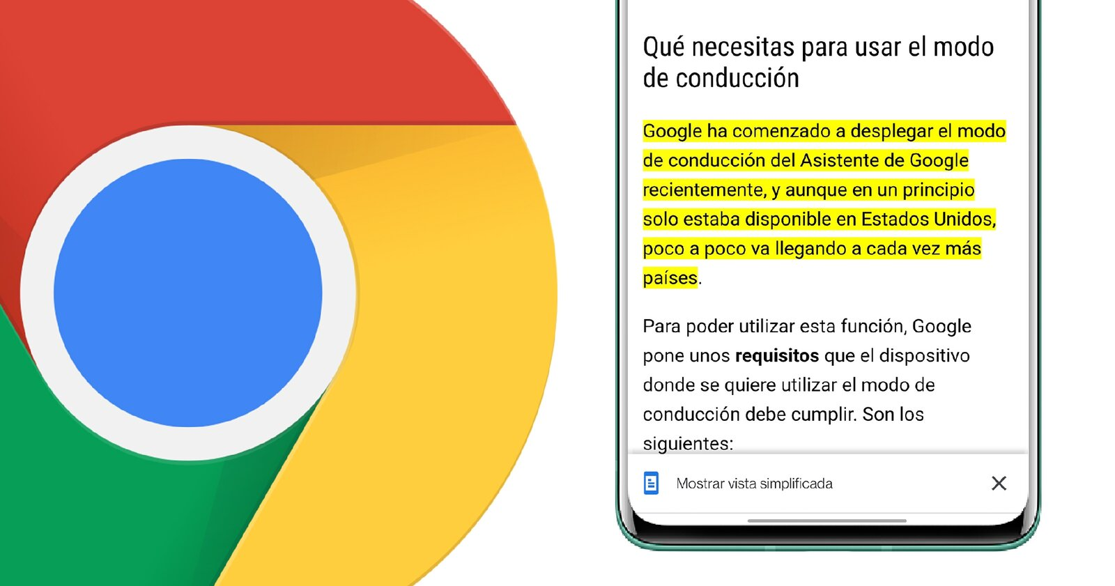 Lien vers l'extrait de texte dans Google Chrome