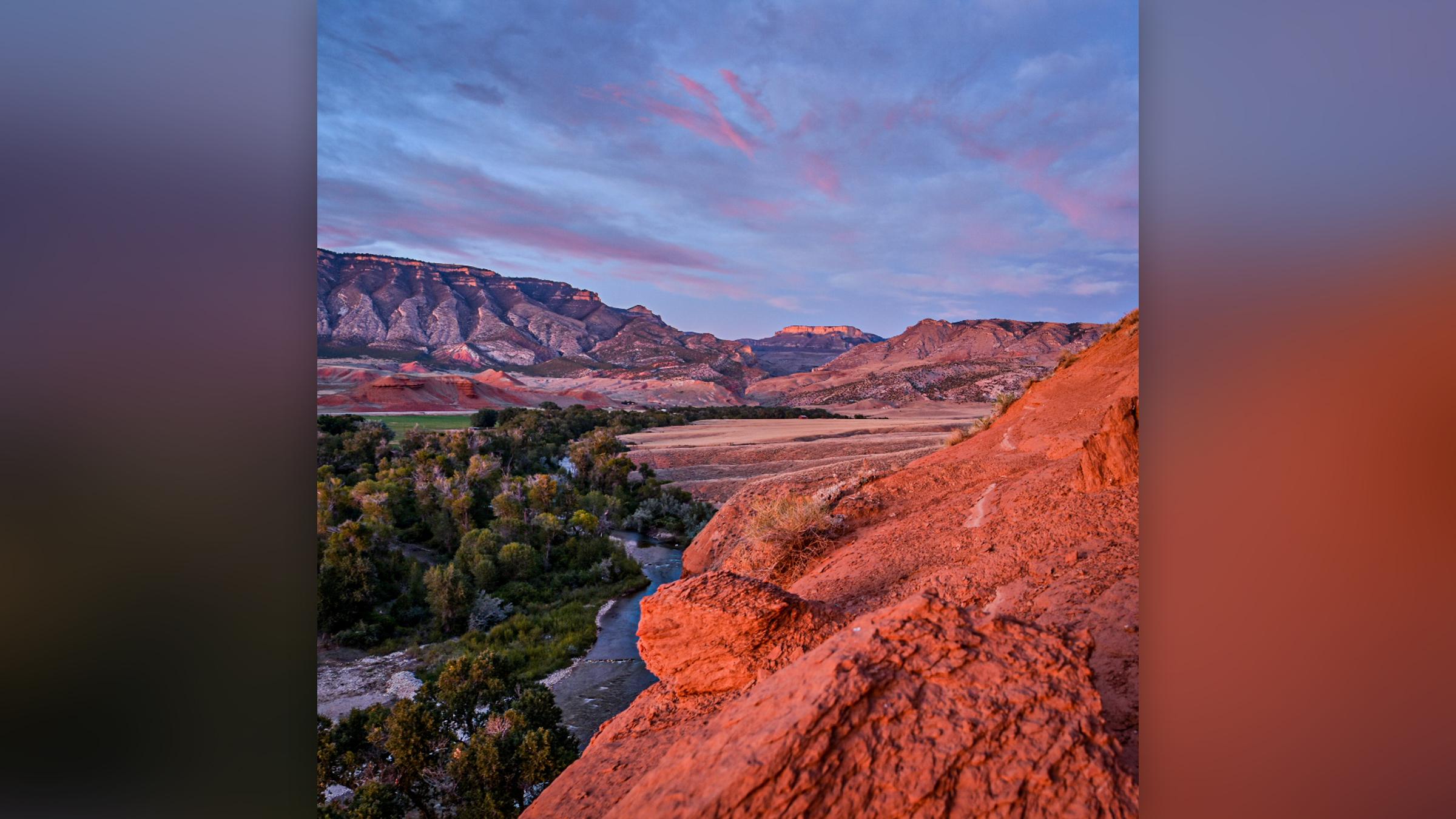 Une vue de la formation Morrison dans le Wyoming, où les chercheurs ont trouvé des centaines de dinosaures