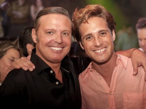 Diego Boneta avec Luis Miguel.  Photo: (Instagram)