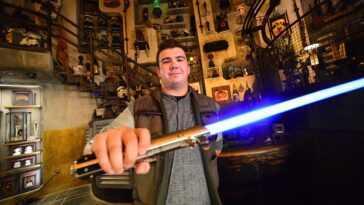 Disney Travaille Sur Un Sabre Laser Avec Une Lame Extensible
