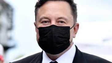Musk n'est évidemment pas vraiment un extraterrestre ... n'est-ce pas?  Crédit: PA