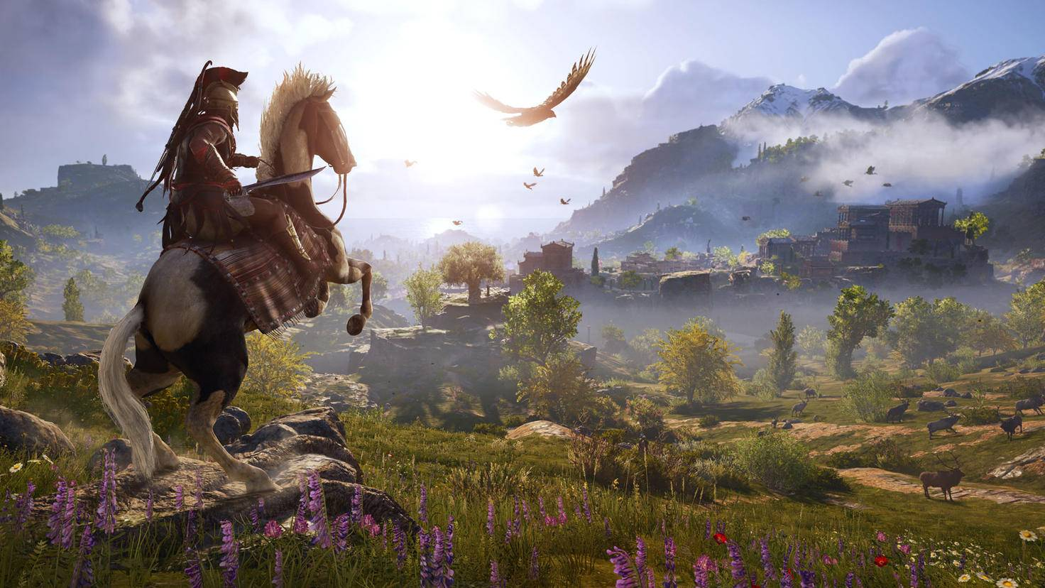 """""""Assassin's Creed Odyssey"""" vous occupe aussi longtemps que """"The Witcher 3""""."""