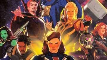 Et Si C'était Marvel? L'affiche Amène Les Gardiens Du Multivers