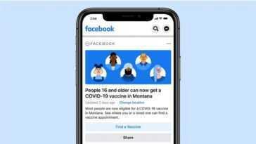 Facebook Vous Indique Où Vous Pouvez Vous Faire Vacciner