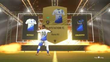 Faites voler vos couleurs de fanboy avec le kit PlayStation FC de FIFA 21