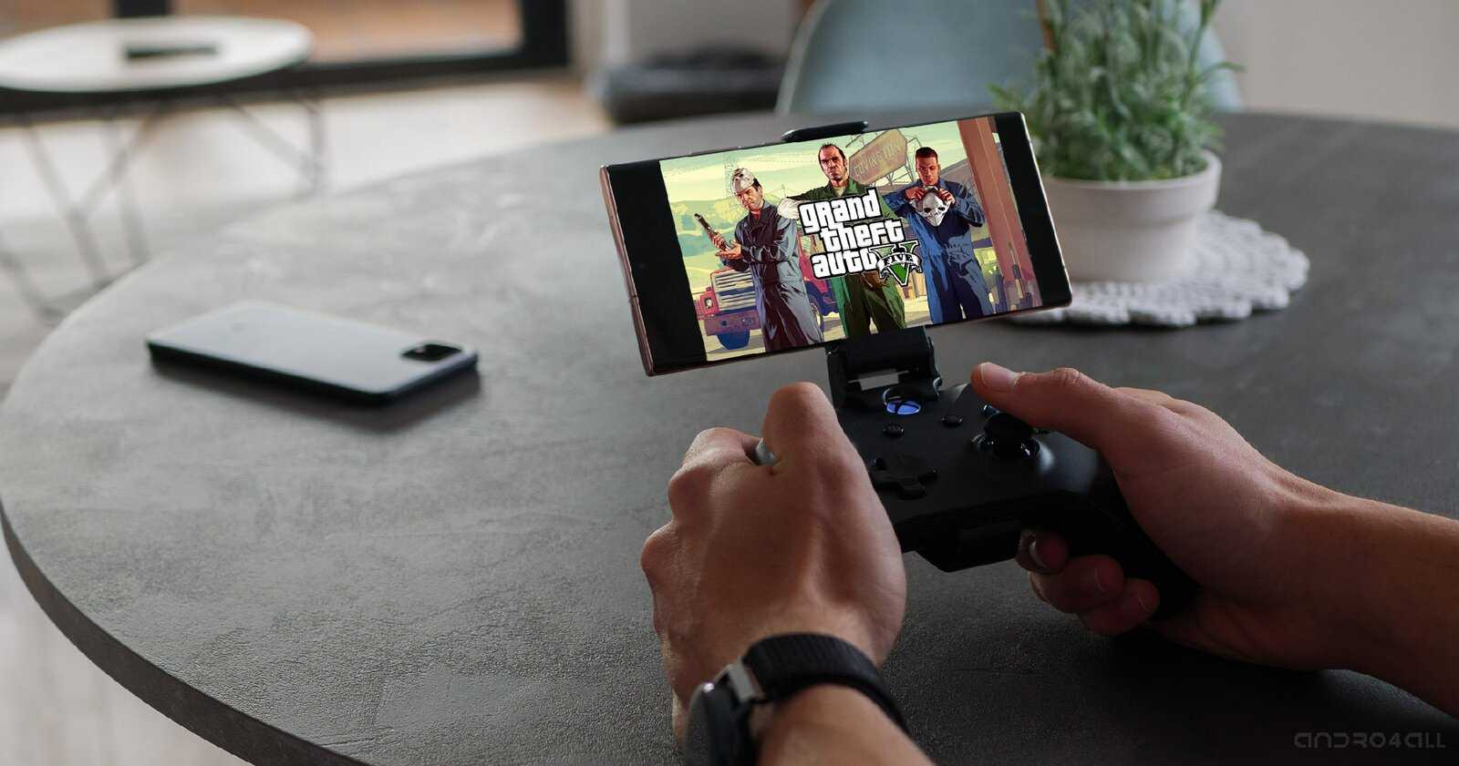 GTA V sur Android avec Game Pass