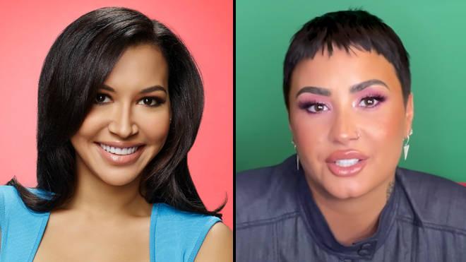 Le casting de Glee retrouve Demi Lovato pour rendre hommage à Naya Rivera