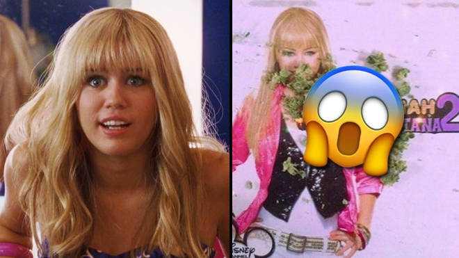 Hannah Montana Fête Le 20/04 Avec Des Photos D'herbe Sur