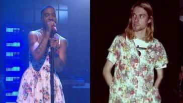 Hommage Ou Pose? Le Rappeur Kid Cudi S'habille En Kurt