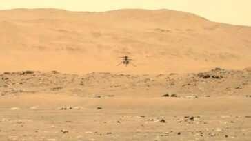 Ingenuity effectue son deuxième vol sur Mars: pourquoi ses rotors tournent cinq fois plus vite qu'ils ne le feraient sur Terre