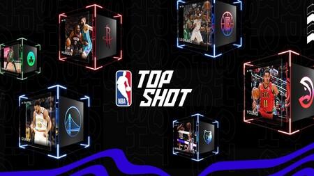 NBA Top Shot, le site Web d'achat et de vente NFT de la NBA.