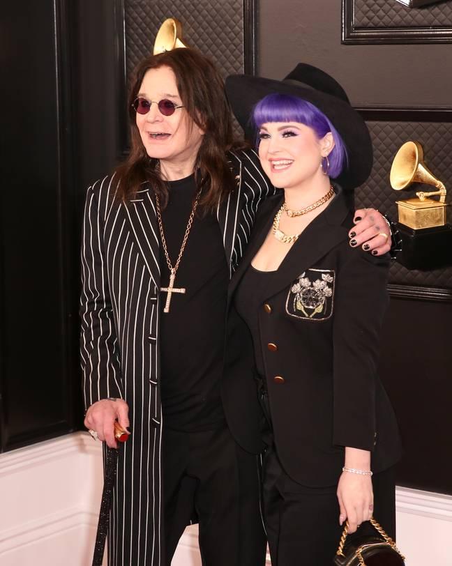 Kelly Osbourne avec papa Ozzy en 2020. Crédit: PA