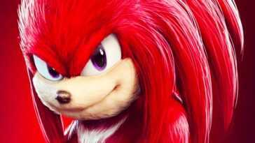 Knuckles Révélés Sur L'ensemble Sonic The Hedgehog 2
